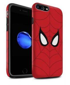 Peter Parker Mask print case