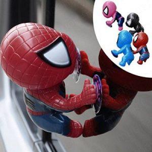 Peter Parker Toy Climbing