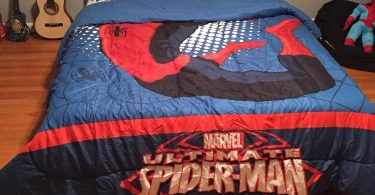 Spiderman Bed Sheets