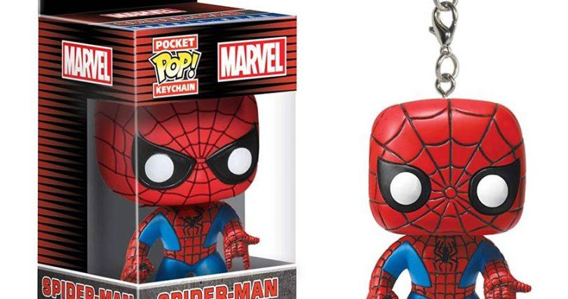 Spiderman Keychains