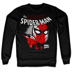 Peter Parker Sweatshirt Official Mens Black