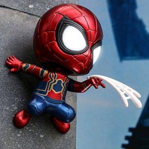 Peter Parker Web Shooting VER LED Light UP MAGENTIC Function Figure