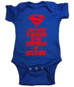 Clark Kent Superman Baby One Piece