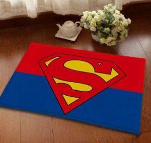 Clark Kent Bath Mat