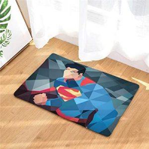 Clark Kent Justice League Cartoon Themed Waterproof Rug