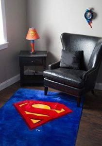 Clark Kent Logo Rug