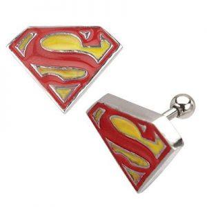 Clark Kent Logo Earrings