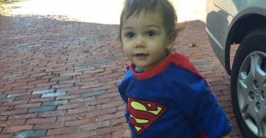 Superman Rompers