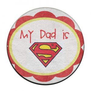 Clark Kent Rug For Dad