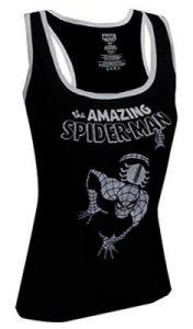 Peter Parker Women's Marvel Comics Amazing Spiderman Back Tank Top