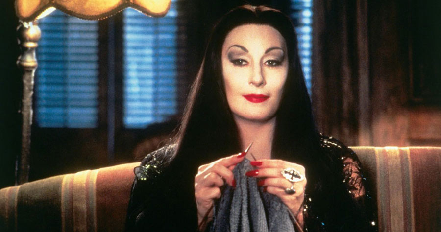 Get A Fantastic Morticia Addams Costume For All The Ladies