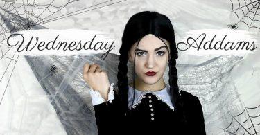 Addams Family Wednesday Addams Costume