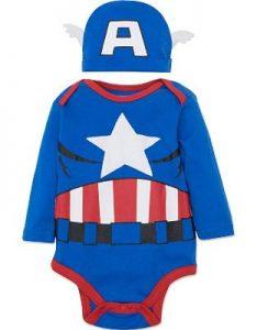 Steve Rogers Baby Suit