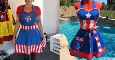 Captain America Apron