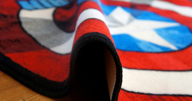 Captain America Carpets and Rugs