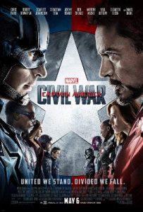 Steve Rogers Civil War Movie Poster