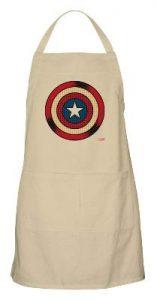 Steve Rogers Comic Shield Apron