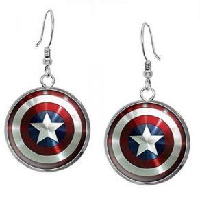 Steve Rogers Earrings