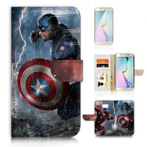Steve Rogers Flip Wallet Case Cover