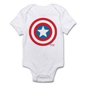 Steve Rogers Icon Baby Suit
