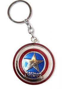 Steve Rogers Keyring Keychain