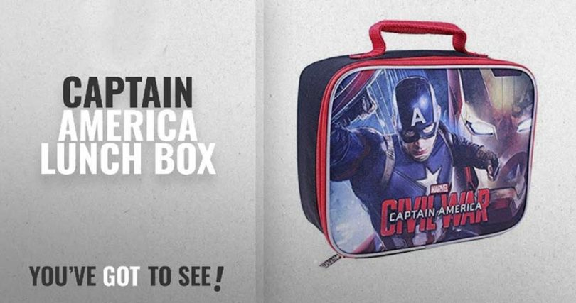 Captain America Lunch Box