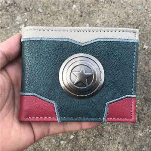 Steve Rogers Clip Wallet