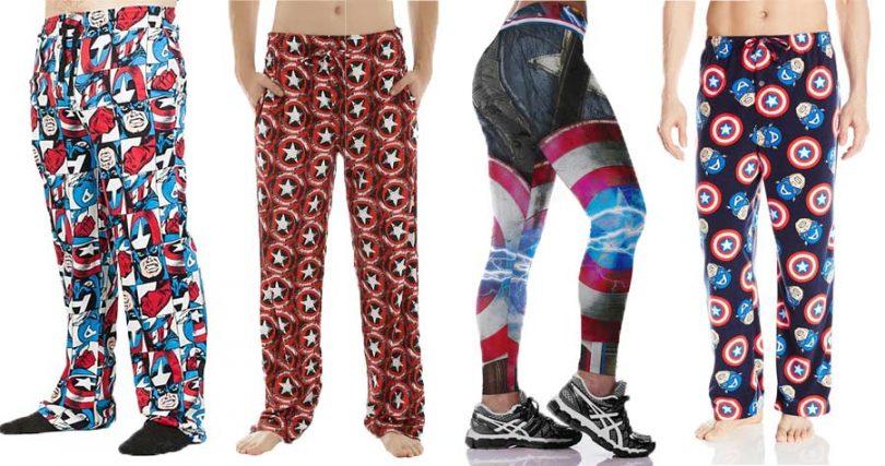 Captain America Pajamas
