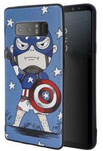 Steve Rogers Protective Case Compatible for Samsung Galaxy
