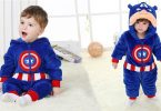 Captain America Rompers