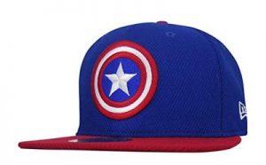 Steve Rogers Shield Blue Hat