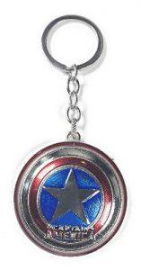 Steve Rogers Shield Keychain