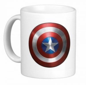 Steve Rogers Shield Mug