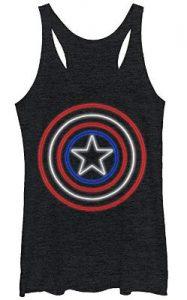 Steve Rogers Shield Logo Top