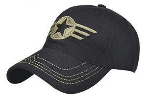 Steve Rogers Star Print Hat