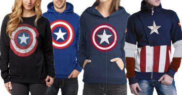 Captain America Sweatshirts