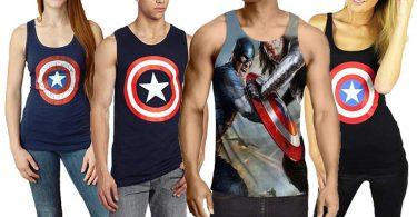 Captain America Tank Tops