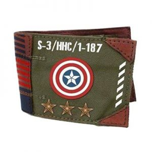 Steve Rogers Military Army Wallet