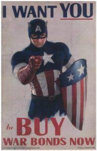 Steve Rogers War Bond Posters