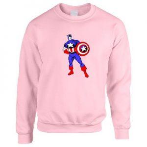 Steve Rogers Womans Sweater Jumper Sweatshirt