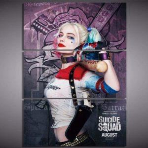 Margot Robbie Clown Poster
