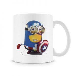 Steve Rogers Despicable ME Mug