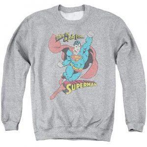 Clark Kent Grey Sweatshirt