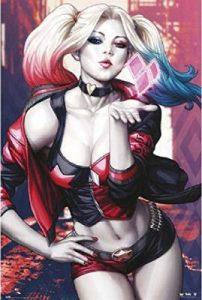 Margot Robbie Blow Kiss Poster