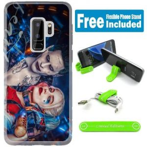Margot Robbie Neon Blue Case