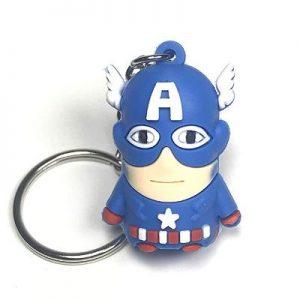 Marvel Avengers Keychain Steve Rogers