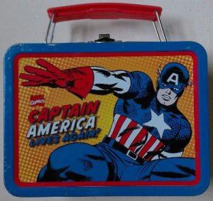Mini Lunch Box Steven Rogers lives again