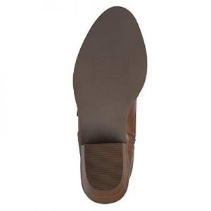 Karen Gillan Knee Lace-up Brogue Boots