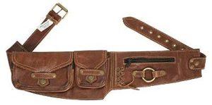 Karen Gillan Leather Hip Pack Utility Belt