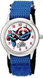 The Avengers Steve Rogers Analog Display Analog Quartz Blue Watch